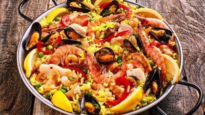 Spaanse menu