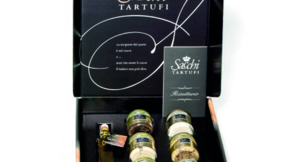 Assortiment conserven Sacchi Tartufi SPECIAAL EINDEJAAR